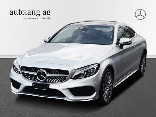 coupe Mercedes-Benz C-Klasse C 400 AMG Line 4Matic