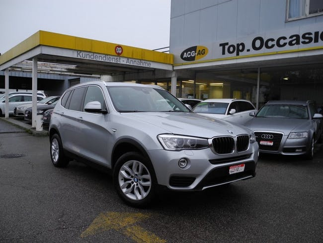 suv BMW X3 xDrive 20d Steptronic