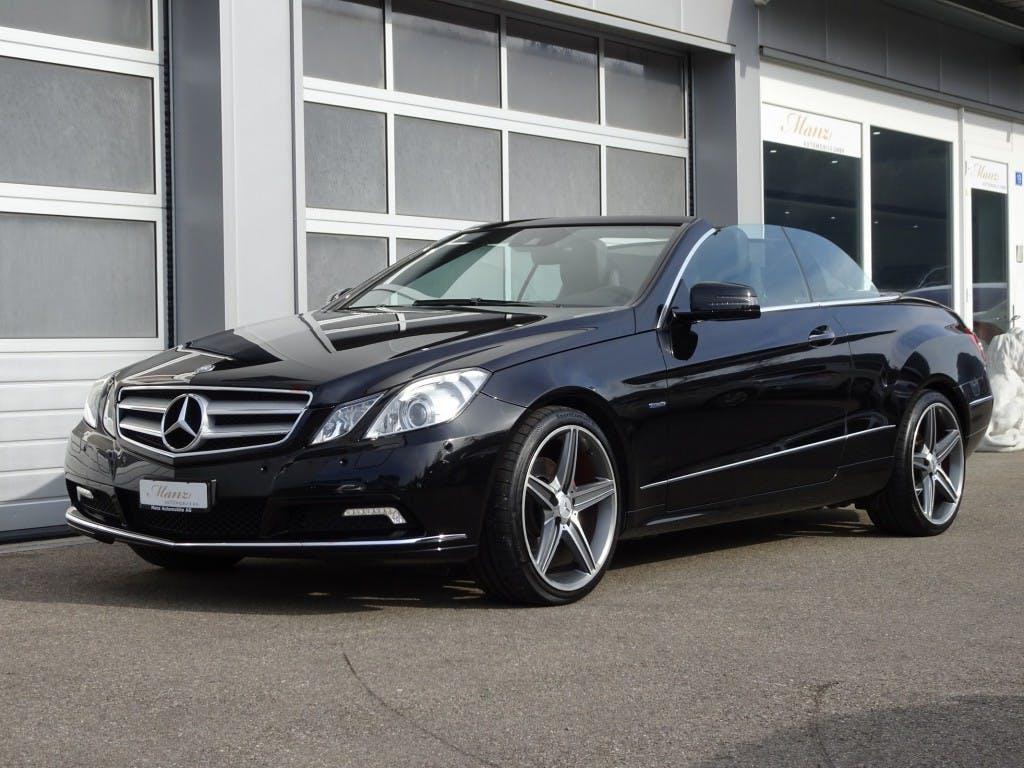 cabriolet Mercedes-Benz E-Klasse E 350 CGI BlueEfficiency 7G-Tronic
