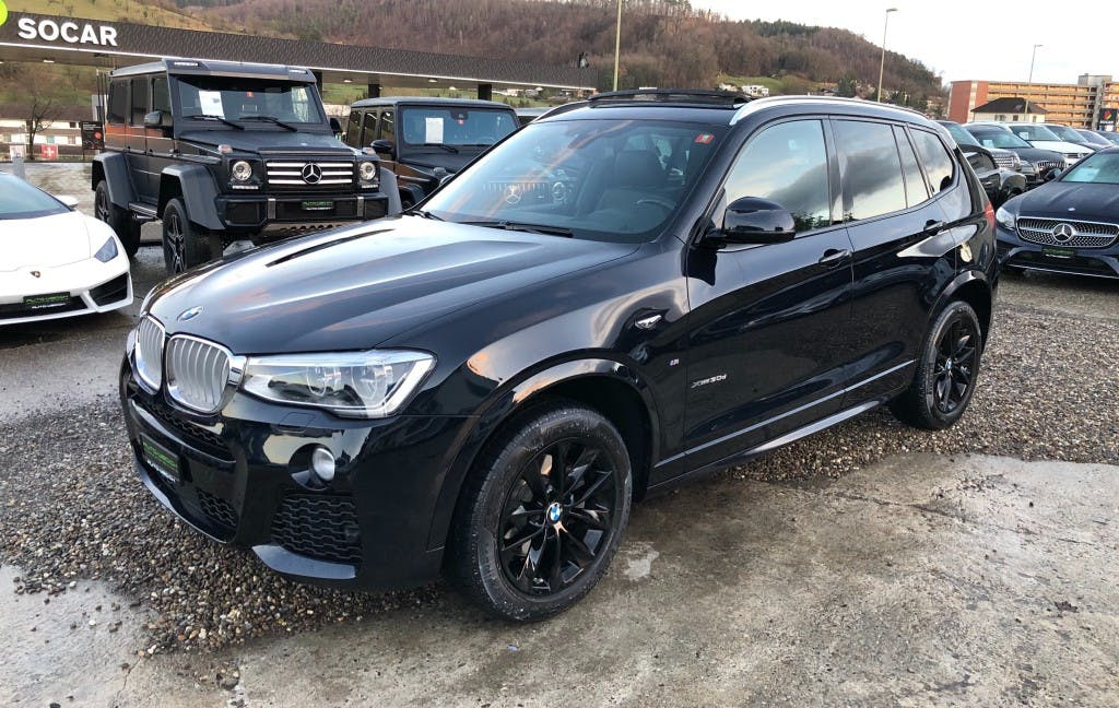 suv BMW X3 xDrive 30d I M-SPORTPAKET I 258 PS I STEPTRONIC I
