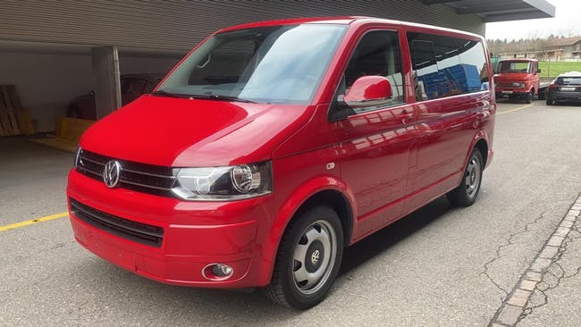 van VW T5 Multivan 2.0 Bi-TDI CR Family Cup 4Motion DSG