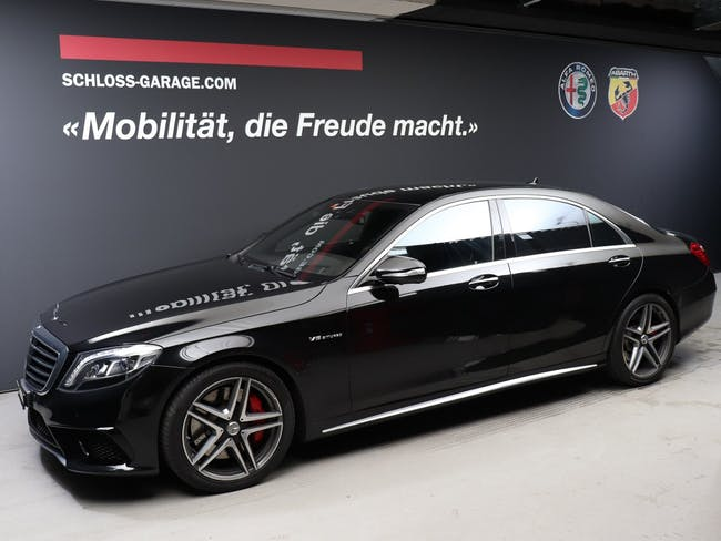 saloon Mercedes-Benz S-Klasse S 63 AMG L 4-Matic Speedshift MCT