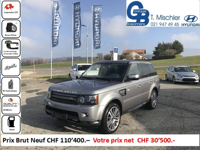 suv Land Rover Range Rover Sport 3.0 SDV6 HSE