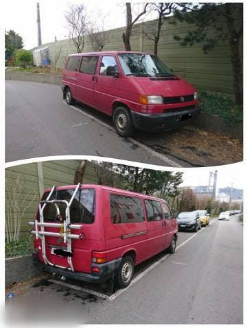 bus VW T4 2.5tdi Transporter Langer Radstand 9 Plätzer camper