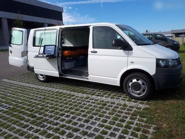 bus VW T5 Campingausbau langer Radstand frisch ab MFK