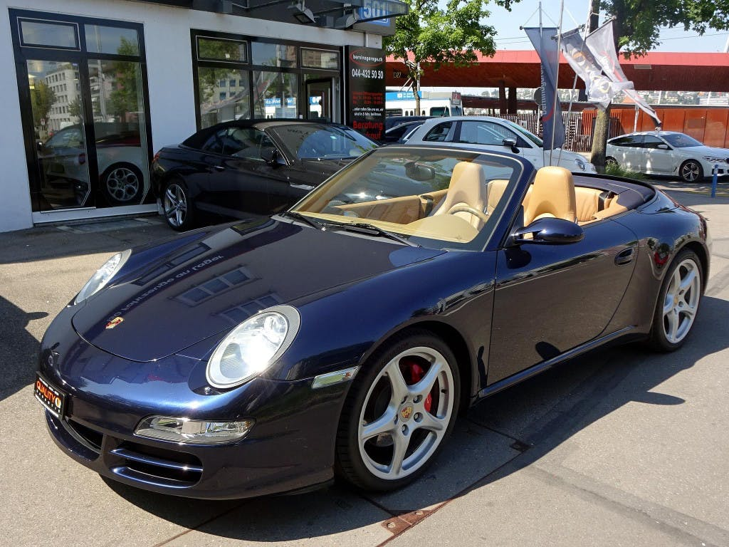 cabriolet Porsche 911 Carrera S Cabrio Tiptronic