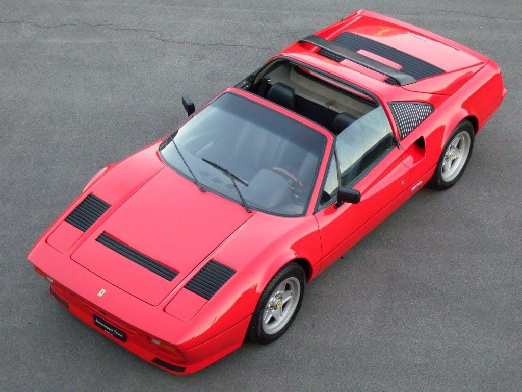 cabriolet Ferrari 308 GTS