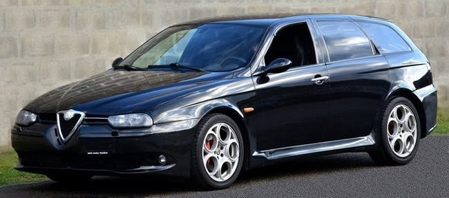estate Alfa Romeo 156 Sportwagon 3.2 V6 GTA