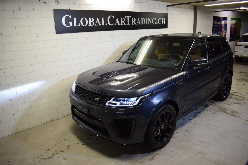 suv Land Rover Range Rover Sport 5.0 V8 S/C SVR Automatic