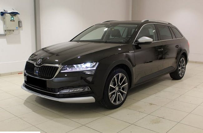 estate Skoda Superb Scout 2.0 TDi 4x4 DSG