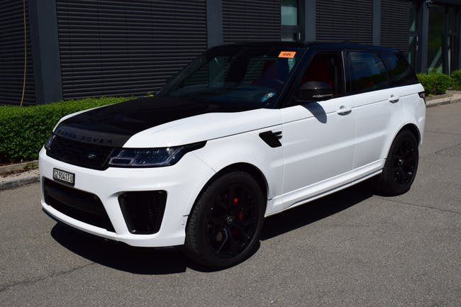 suv Land Rover Range Rover Sport 5.0 V8 S/C SVR Automatic
