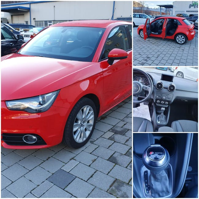 saloon Audi A1 Sportback 1.4 TFSI Attraction S-tronic