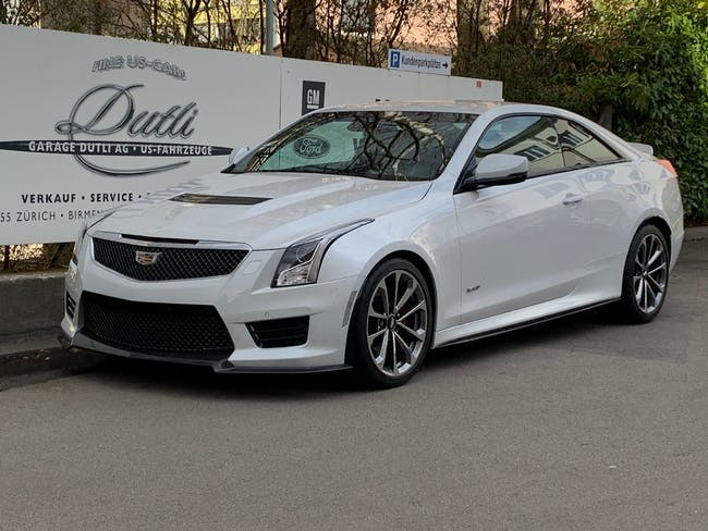 coupe Cadillac ATS -V Coupé 3.6 V6 Bi-Turbo