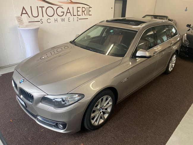 estate BMW 5er 520d Touring xDrive Luxury Line * Design Selection Braun * open Sky Panorama *