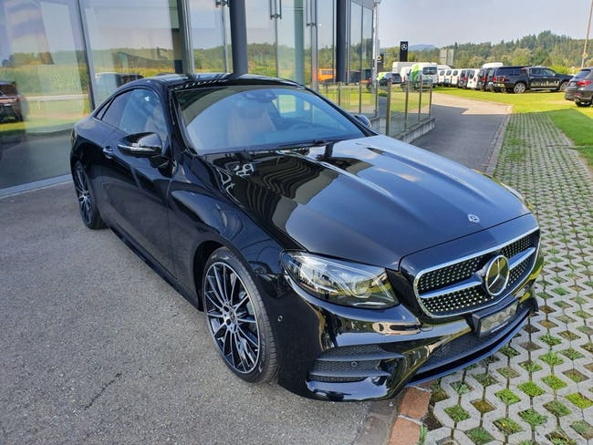 coupe Mercedes-Benz E-Klasse E 450 Coupé AMG Line 4 Matic 9G-Tronic