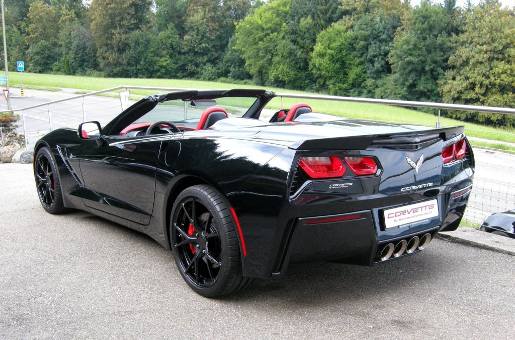 cabriolet Chevrolet Corvette Convertible Stingray 3LT