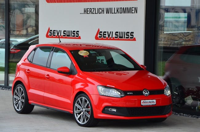 saloon VW Polo 1.4 TSI GTI DSG