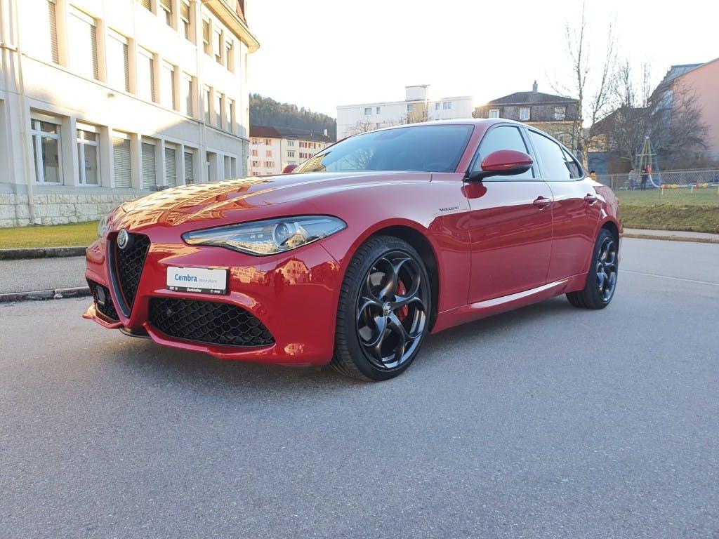 saloon Alfa Romeo Giulia 2.0 Veloce Q4 Automatic