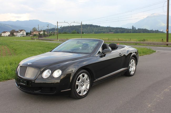cabriolet Bentley Continental GTC 6.0