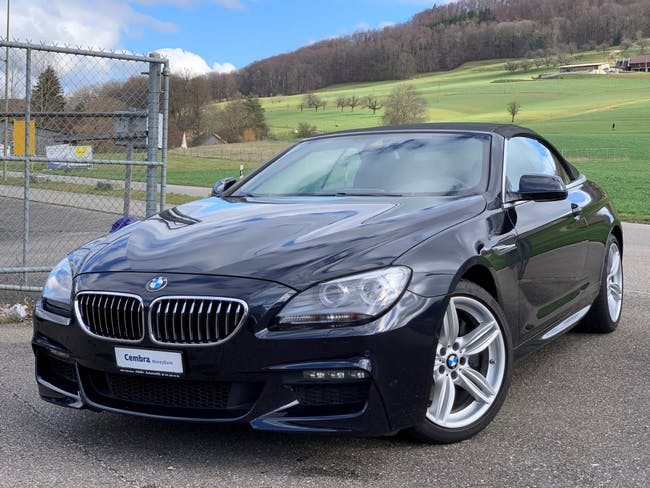 coupe BMW 6er 640i Cabrio XDrive