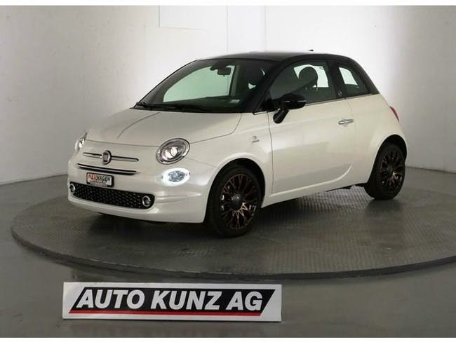 saloon Fiat 500 0.9 Twin. 120th Anniversary