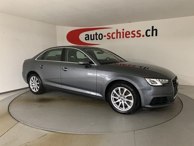 saloon Audi A4 2.0 TDI