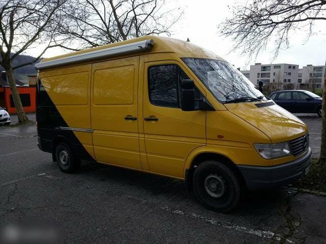 bus Mercedes-Benz Sprinter Camper / Wohmobil Mercedes-Benz Sprinter 312 D