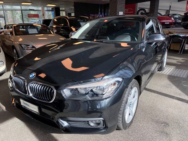 saloon BMW 1er 118d Steptronic Avantage Paket