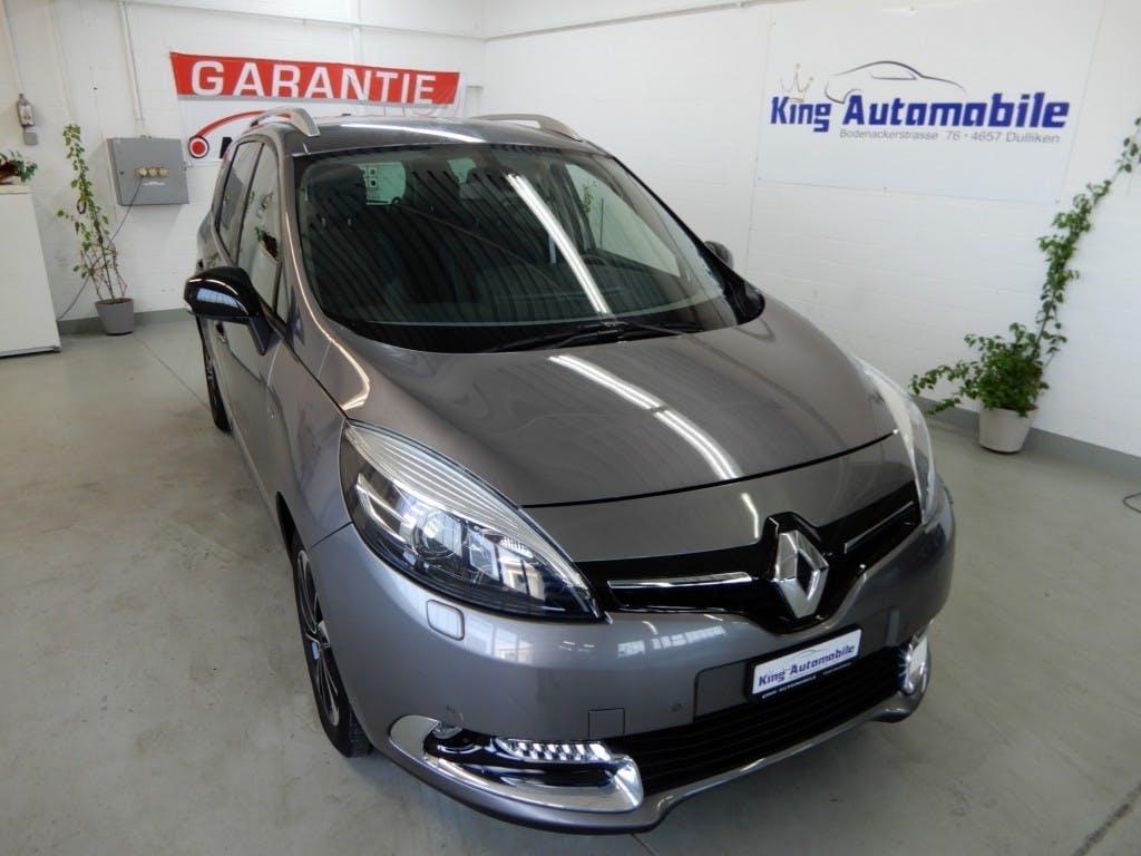 van Renault Scénic Grand Scénic 1.5 dCi Bose EDC