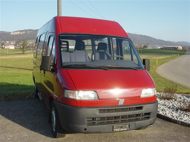 bus Fiat Ducato 18 Minibus 3700 2.0