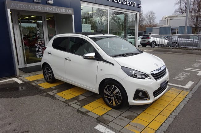 saloon Peugeot 108 1.2 VTi Allure Top