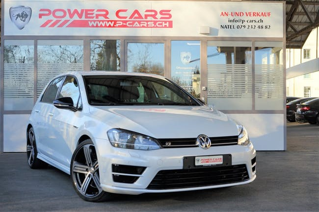 saloon VW Golf 2.0 TSI R 4Motion DSG