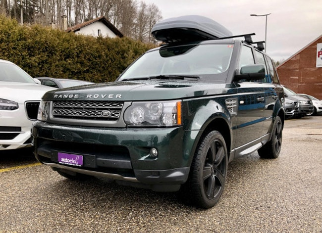 suv Land Rover Range Rover Sport RR Sport 5.0 V8 SC