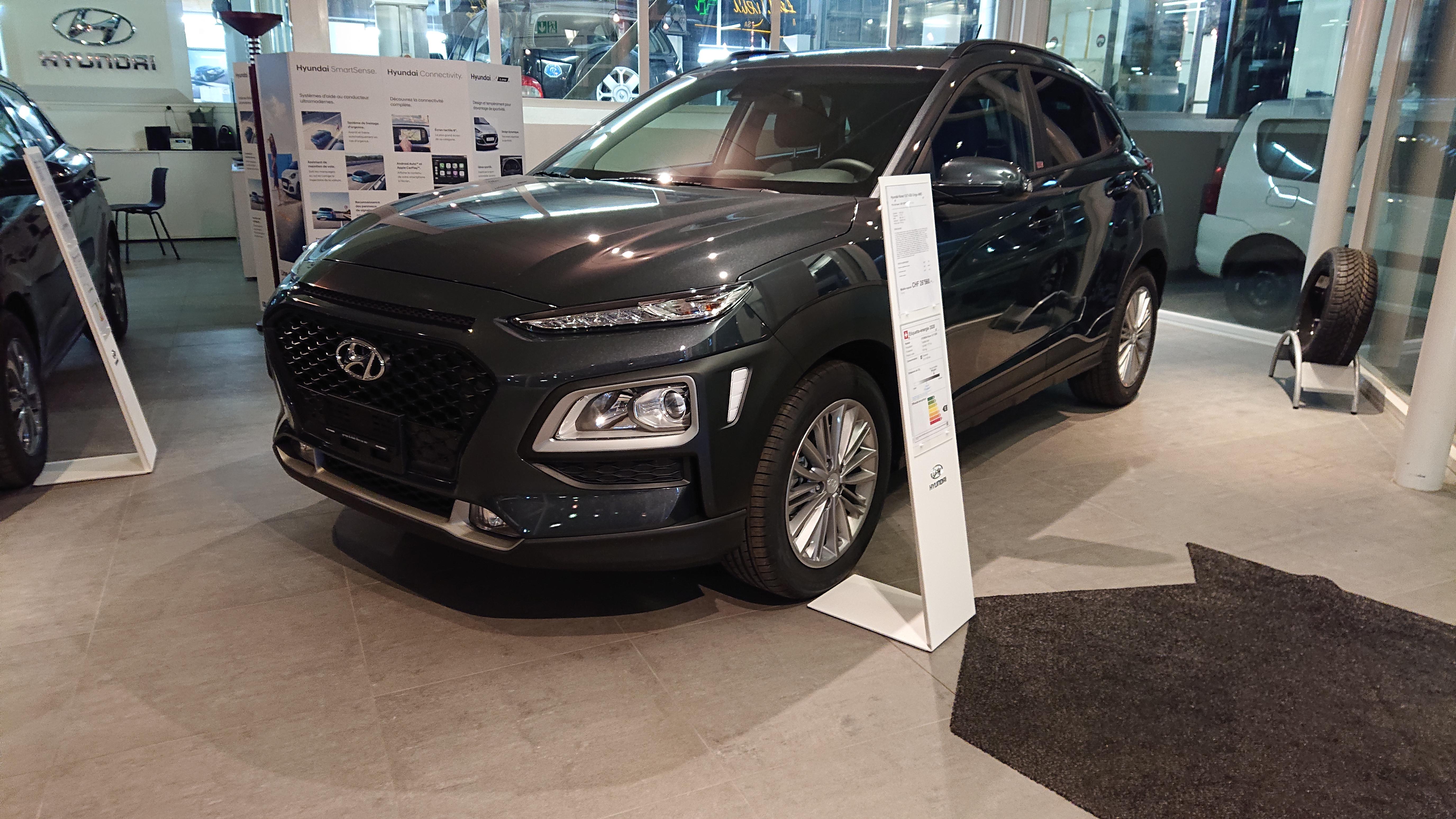 suv Hyundai Kona 1.6 T-GDi Origo 4WD