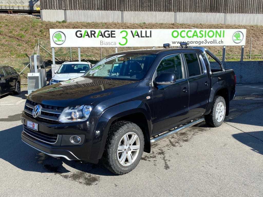suv VW Amarok 2.0 BiTDI Highline 4Motion