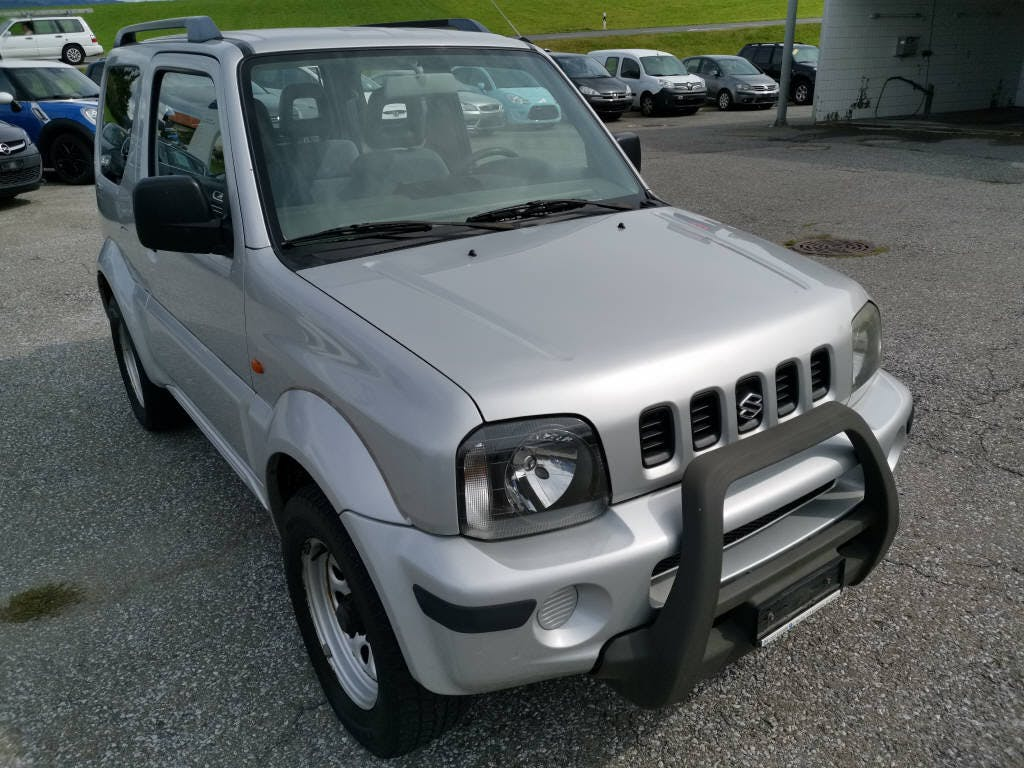 suv Suzuki Jimny Wagon 1.3 4WD JLX Top