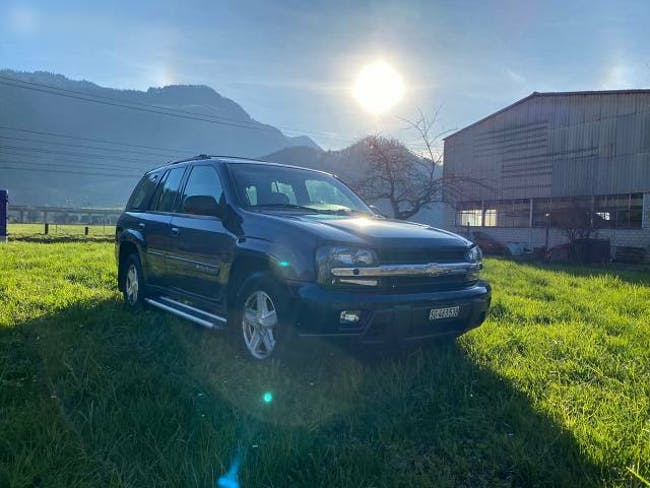 suv Chevrolet Trail Blazer 2002 Chevrolet Trailblazer, 4x4, 270PS, 2.6T Anhängelast