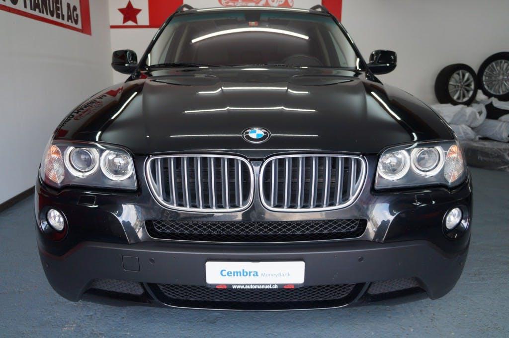 suv BMW X3 xDrive 30i (3.0si)