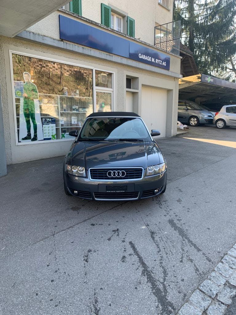 cabriolet Audi A4 Cabriolet 1.8 20V Turbo