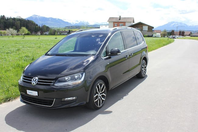 van VW Sharan 2.0 TDI BlueMotion Technology Cup 4Motion 7 Sitzer