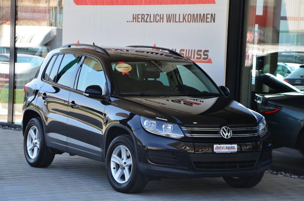 suv VW Tiguan 1.4 TSI BlueMotion Trend&Fun 4x2