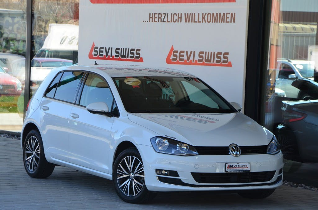 saloon VW Golf 1.6 TDI Allstar