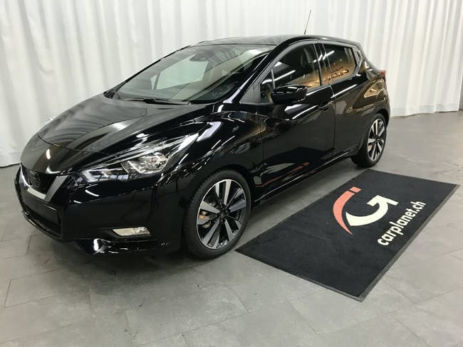 saloon Nissan Micra 1.0 IG-T Tekna
