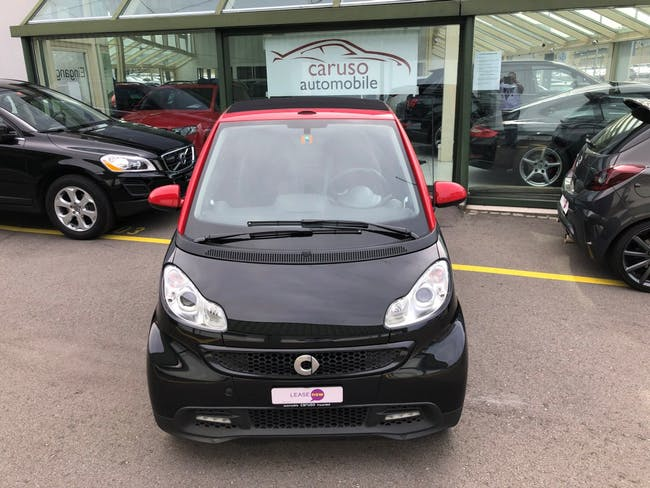 cabriolet Smart Fortwo sharpred softouch