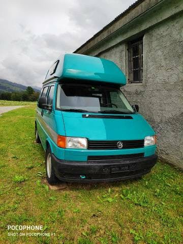 bus VW T4 Hochdach Camper mit Ausstattung