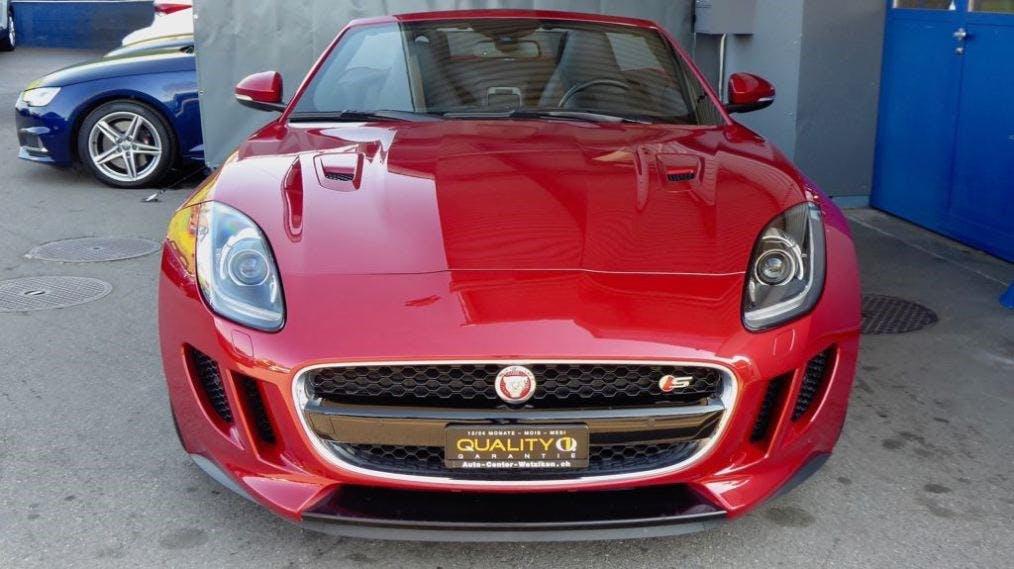 cabriolet Jaguar F-Type Convertible S 3.0 V6 S/C AWD