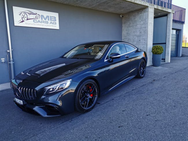 coupe Mercedes-Benz S-Klasse S 63 AMG 4Matic