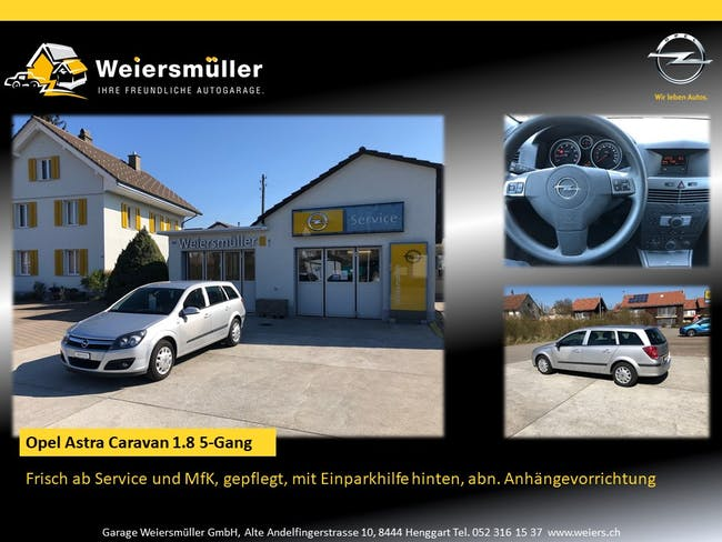 estate Opel Astra Caravan 1.8i 16V 140 Enjoy