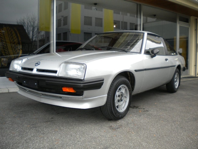 coupe Opel Manta 2.0 GT/J