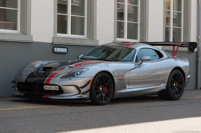 coupe Dodge Viper ACR EXTREME